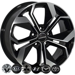 Zorat Wheels ZW-BK5168 BP