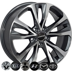 Zorat Wheels ZW-BK5212 GP
