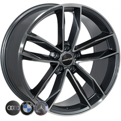 Zorat Wheels ZW-BK5232 GP