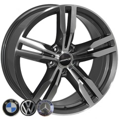 Zorat Wheels ZW-BK5327 GP