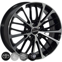 Zorat Wheels ZW-BK5343 BP