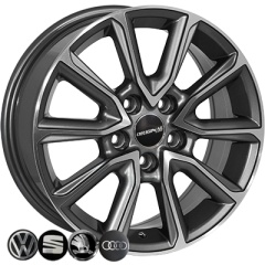 Zorat Wheels ZW-BK5344 GP