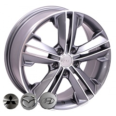 Zorat Wheels ZW-BK637 GP