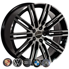 Zorat Wheels ZW-BK841 BP